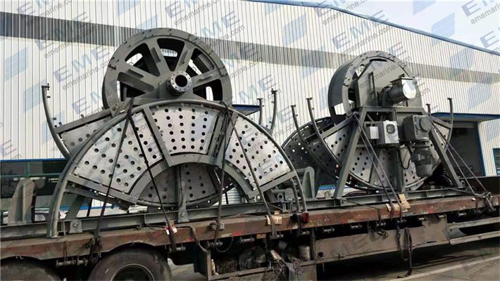 "Four sets of 5"" and 6"" electric hose winch have been sent to Shenzheng Youlian Shipyard."