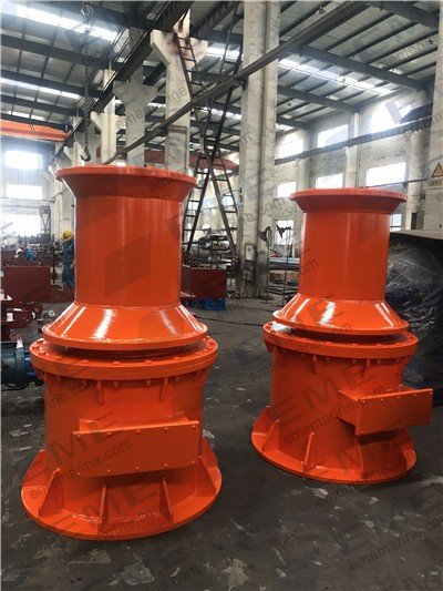 Two sets of 10T electric capstan have been delivered to The Republic of Guinea.