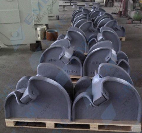 Cast steel type chain stopper