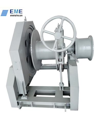 10T Hydraulic single drum winch