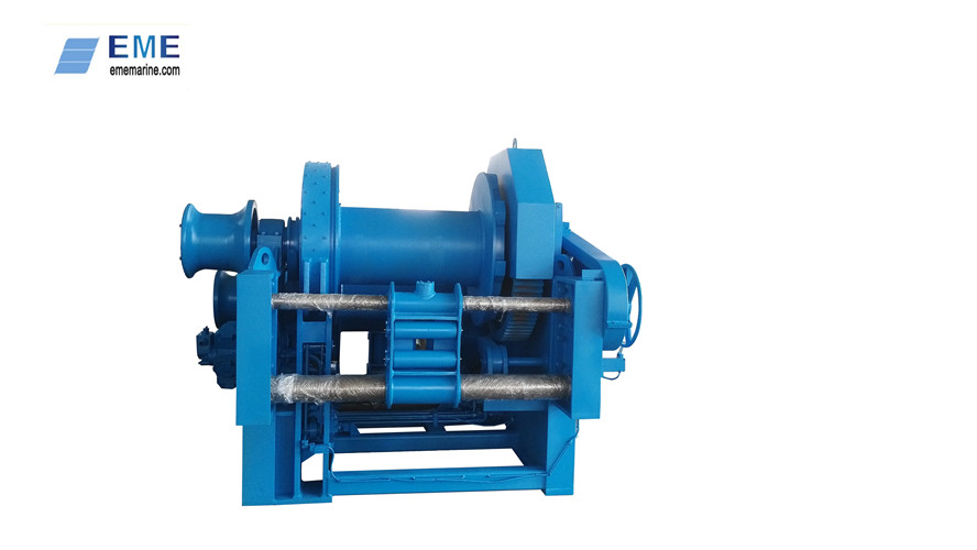 12T Hydraulic waterfall winch